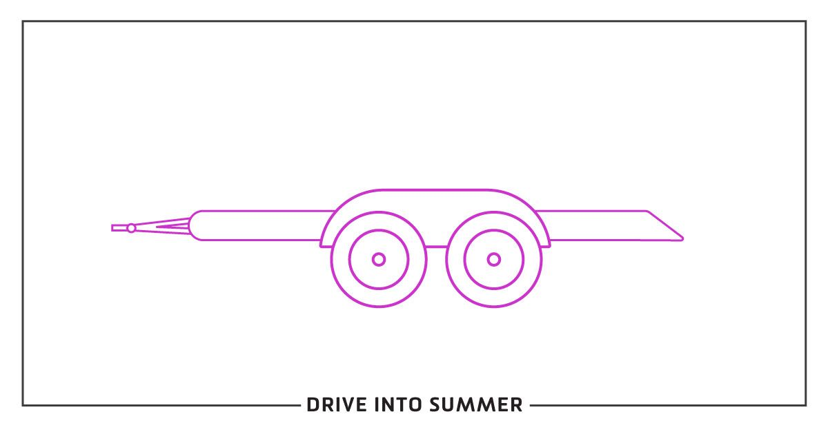 Drive into summer: How to go with the tow (Boats, Campers, and Trailers)