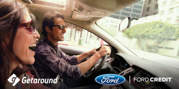 GETAROUND PARTNERS WITH FORD TO DRIVE FUTURE OF CARSHARING